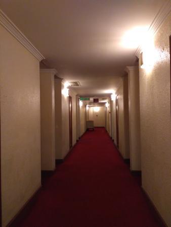 Grand Pacific Hotel Kuala Lumpur: lorong hotel