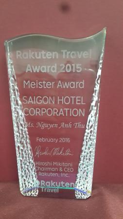 Saigon Hotel: Rakuten Travel Award