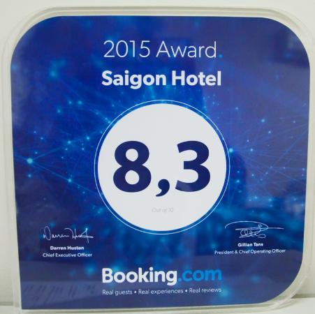 Saigon Hotel: Guest Review Award