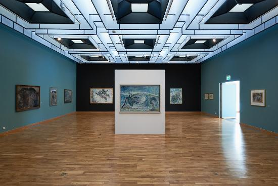 Reykjavik Art Museum Kjarvalsstadir