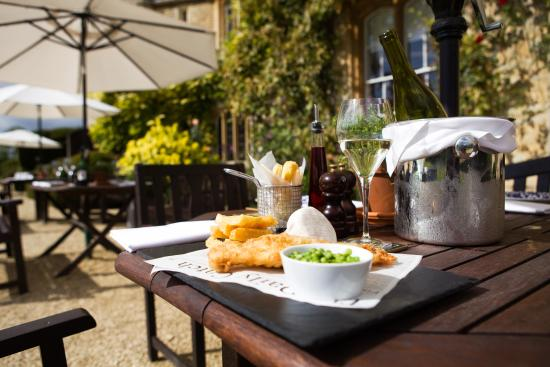 The Manor: Gourmet meals al fresco in peaceful Oxfordshire