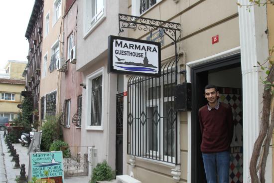 Marmara Guesthouse: Yagmur Ghouri, the receptionist.
