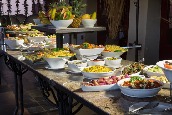 dinner buffet picture of sossusvlei lodge restaurant sossusvlei rh tripadvisor com