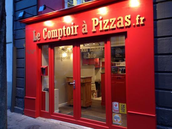 Le comptoir a pizzas lamoriciere nantes restaurant avis num ro de t l phone photos - Comptoir irlandais nantes ...