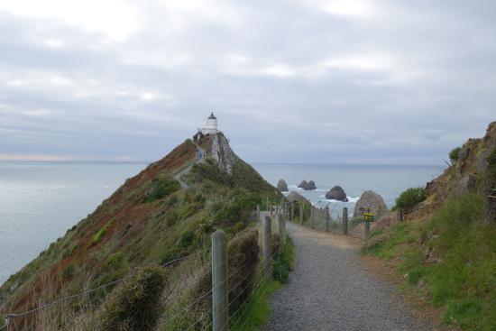 Balclutha, New Zealand: The lighthouse
