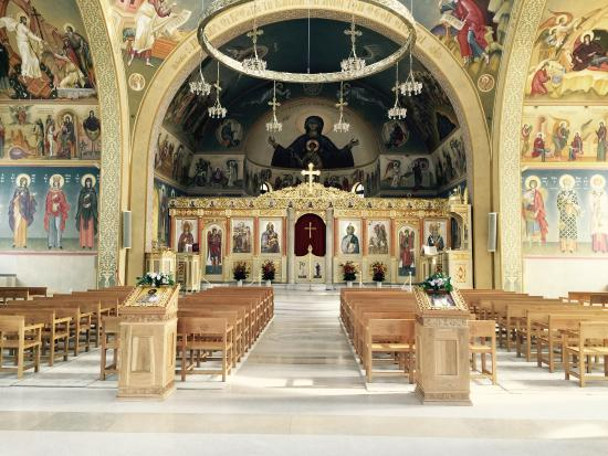Vouliagmeni, Greece: church inside