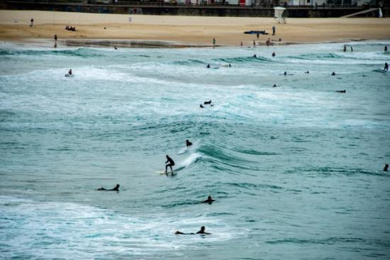 Real Sydney Tours: Surfers at Bondi Beach