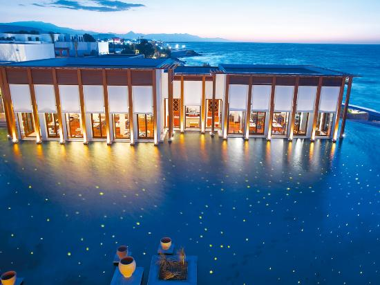 Amirandes, Grecotel Exclusive Resort: Lago di Candia Fine Dining Restaurant inspired by its spectacular waterfront setting