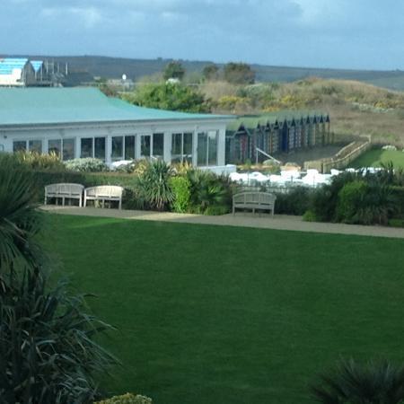 Trebetherick, UK: Picture of Seaside restuarant, St Moritz hotel