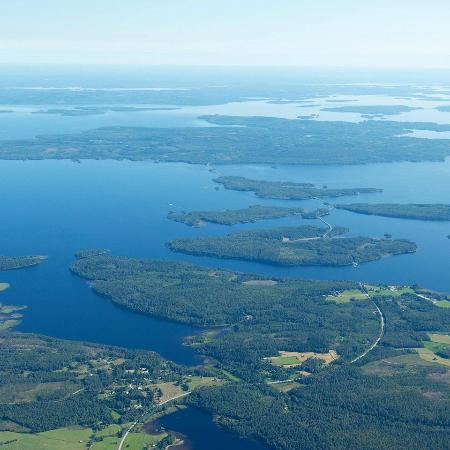 Paalasmaa archipelago, Lake Pielinen, Juuka, Finland