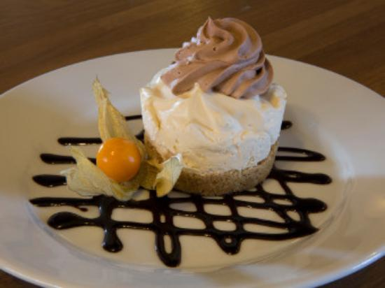 Hannington, UK: Homemade Cheesecake