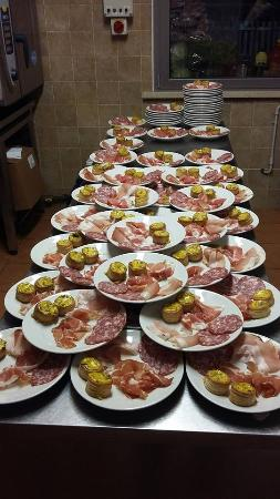 Castellucchio, Italia: pranzi di lavoro e cene su prenotazione