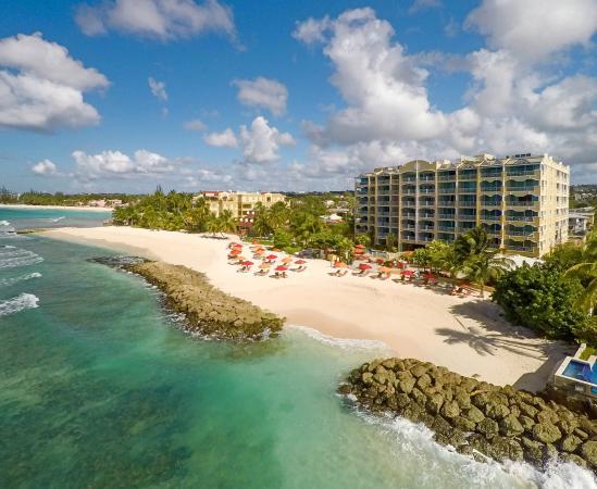 Ocean Two Resort & Residences: View of Ocean Two from Sea