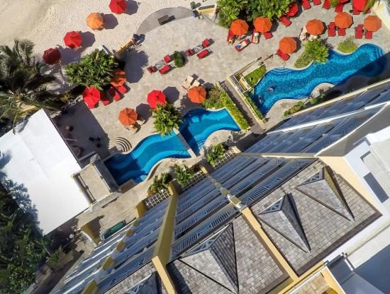 Ocean Two Resort & Residences: View of Ocean Two from the top!
