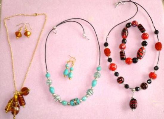 Nice Necklace Trio Picture Of Vines Designs Jewellery Making