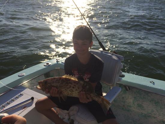 Boca Grande, FL: Nice grouper