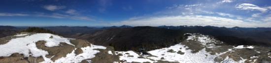 Adirondack, estado de Nueva York: A view from the summit