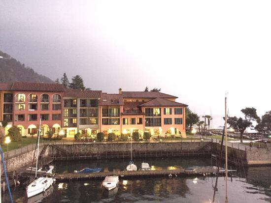 Hapimag Resort Cannero : Evening thunderstorms are spectacular here!