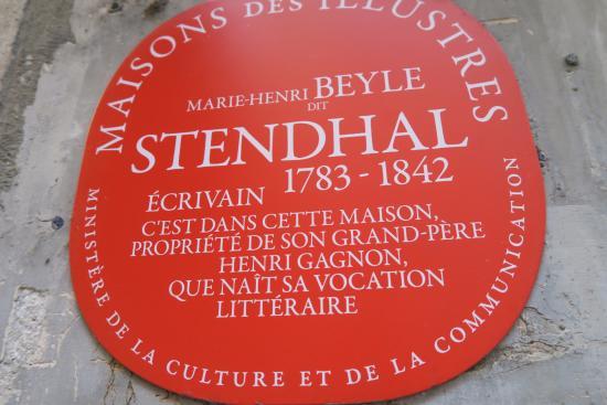 Appartement natal de Stendhal