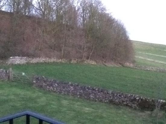 Alsop en le Dale, UK: From my room - wonderful views over the countryside