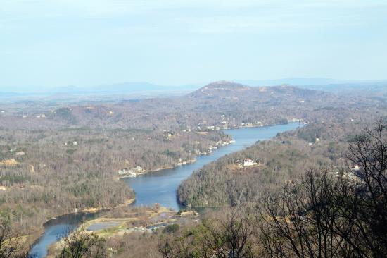 View from Atop Chimney Rock