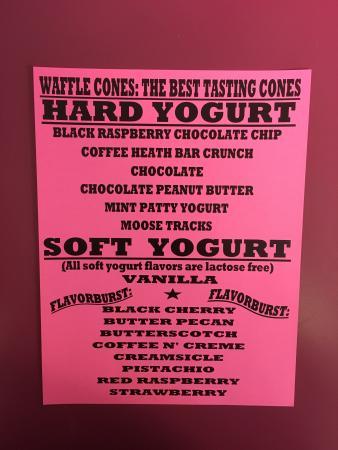 Cohoes, estado de Nueva York: 2016 Yogurt flavors
