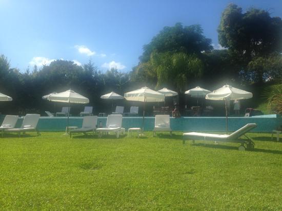 Sisai Hotel Boutique: Sol na piscina