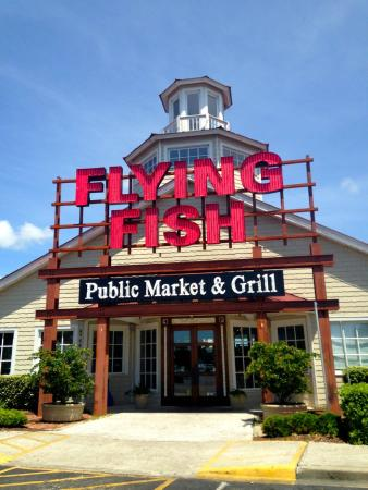 Flying Fish A Great Find In Barefoot Landing North Myrtle Beach