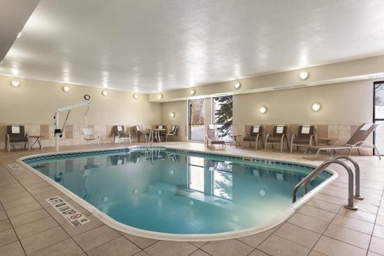 Hampton Inn Minneapolis/St. Paul-Woodbury : Indoor Pool & Hot Tub