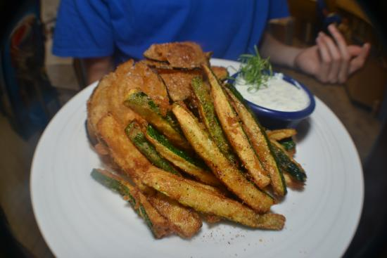 Tuckerton, NJ: Fried Zucchini and Eggplant