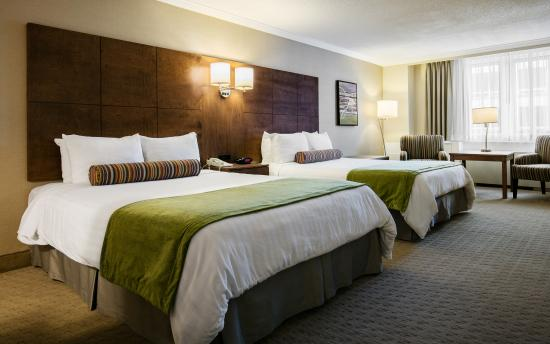 Best Western Ville-Marie Montreal Hotel & Suites : Two Queen beds