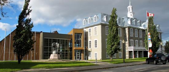 L'Islet, Canada: Vue de l'entrée principale du Musée