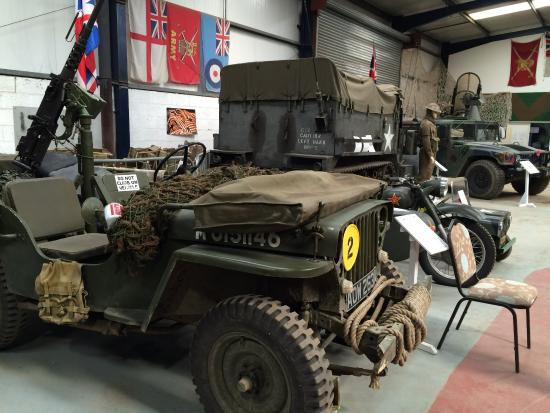 The Wight Military and Heritage Museum: Various vehicles.