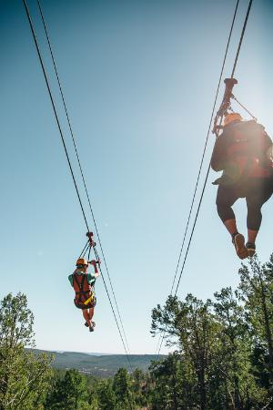 Glorieta Zip Tour: The High Five
