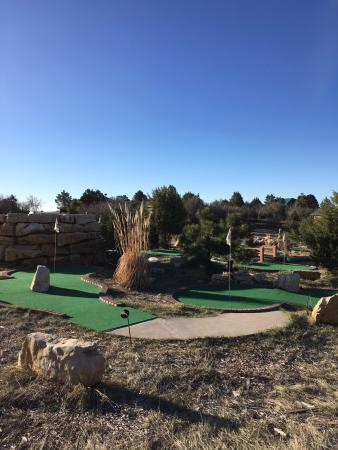 Zion Ponderosa Ranch Resort: the mini golf course