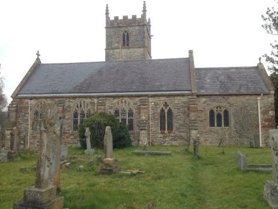 Stanton Drew, UK: widow od strony cmentarza