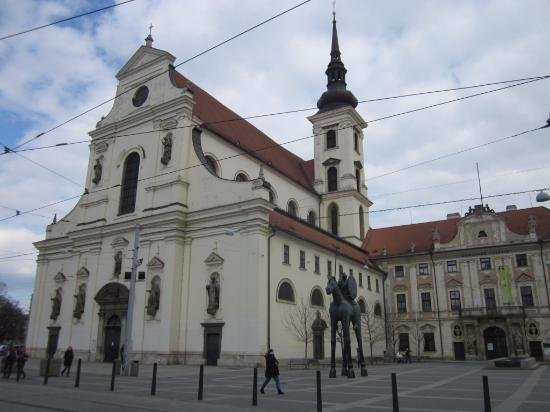 Brno, Republika Czeska: храм