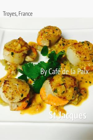 Brasserie de la Paix Troyes : Les saint Jacques