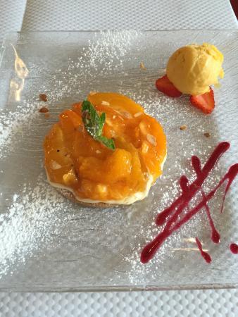Brasserie de la Paix Troyes : Abricot rôti à la prunelle de Troyes