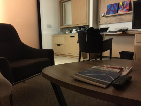 view from the sofa picture of conrad new york downtown new york rh tripadvisor com