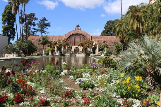 Balboa Park Pretty Gardens
