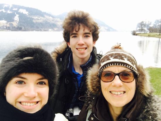Alpes austríacos, Austria: Zell am See lakeside