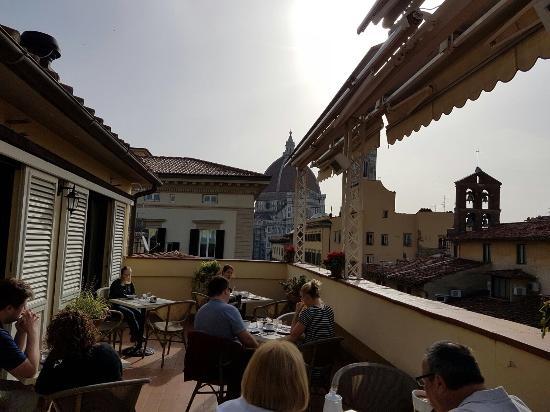 view from window on roof top terrace picture of hotel laurus al rh tripadvisor ie