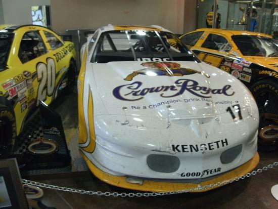 Matt Kenseth Museum: Kenseth's IROC car