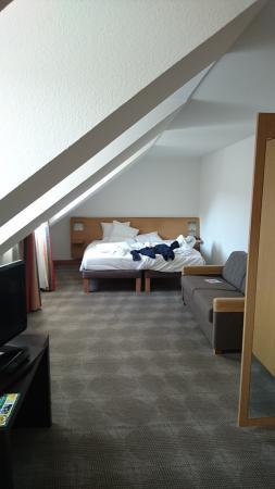 Executive Zimmer Unter Dem Dach Bild Von Novotel Wurzburg