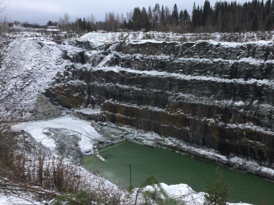 Juuka, ฟินแลนด์: Soapstone quarry