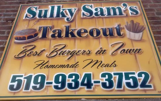 Sulky Sam's: Sulky's Sign