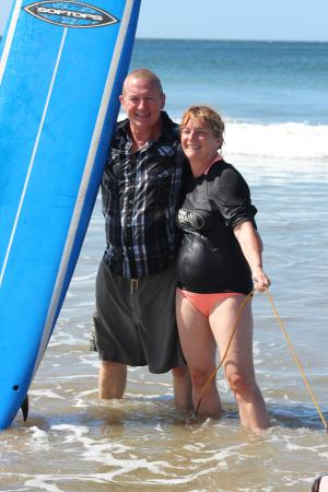 Playa Grande, Costa Rica: Happiness is a day at the beach surfing