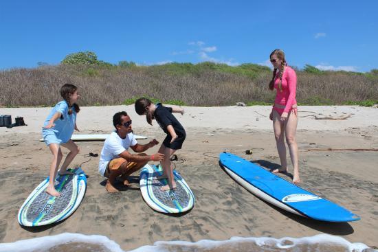 Playa Grande, Costa Rica: Gotta bend those knees