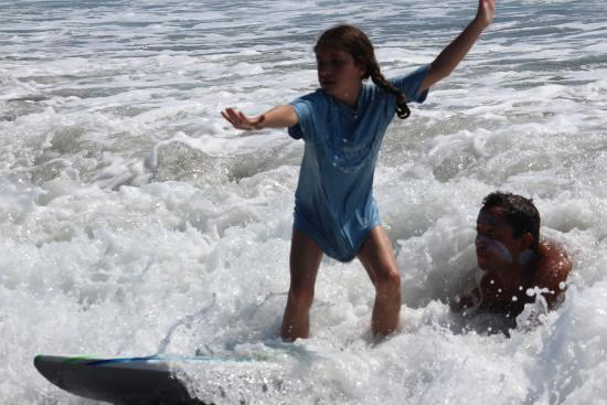 Playa Grande, Costa Rica: We take extra special care of our little ones